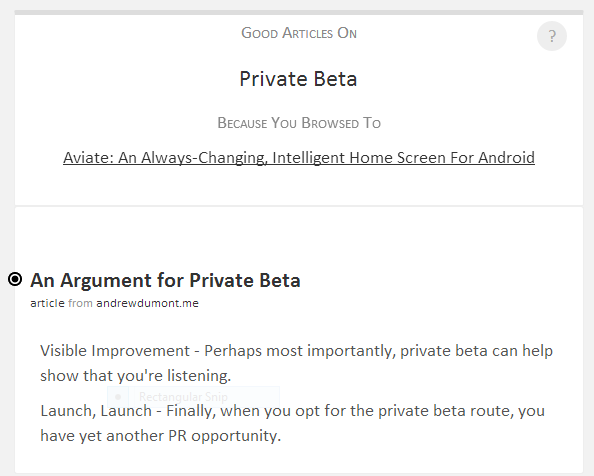 private-beta